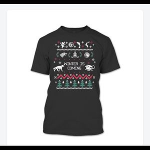 Game of thrones winter is coming Xmas T-shirt